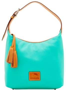 Dooney & Bourke Patterson Leather Paige Sac Shoulder Bag - JADE - STYLE