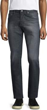 AG Adriano Goldschmied Men's Matchbox Distressed Straight Leg Jeans
