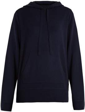 Allude Hooded wool and cashmere-blend sweater