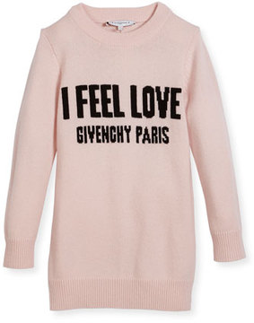 Givenchy I Feel Love Knit Dress, Size 4-5