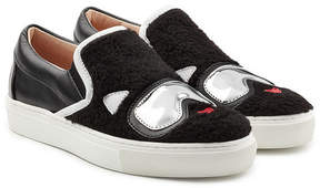 Karl Lagerfeld Slip-On Sneakers with Leather
