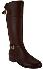 Vionic As Is Orthotic Tall Shaft Leather Boots - Storey