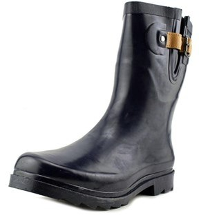 Chooka Top Solid Mid Round Toe Synthetic Rain Boot.