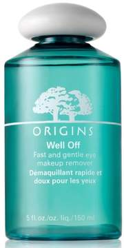 Origins Well Off Fast & Gentle Eye Makeup Remover - No Color
