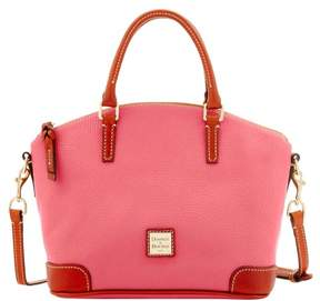 Dooney & Bourke Pebble Grain Charli Satchel - BUBBLE GUM - STYLE