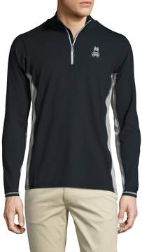 Psycho Bunny Men's Performance 1/4 Zip Top