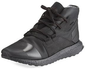 Y-3 Men's Kozoko High-Top Sneaker, Black/White