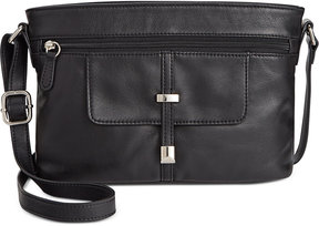 Giani Bernini Nappa Leather Belt Horizontal Crossbody, Created for Macy's