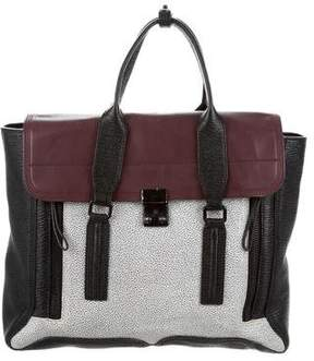3.1 Phillip Lim Colorblock Pashli Leather Satchel