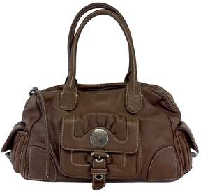 Marc by Marc Jacobs Brown Leather Cargo Pocket Bag