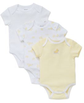 Little Me Babys Three-Pack Bodysuit Set