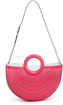 Henri Bendel West 57Th Half Circle Perforated Tote