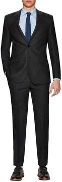 English Laundry Men's Notch Lapel Textured Suit