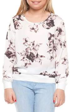 Dex Girl's Floral-Print Top