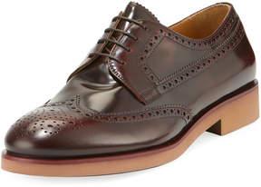 Giorgio Armani Barolo Leather Lace-Up Oxford