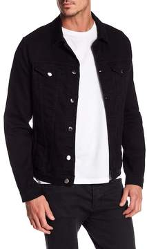 Frame L'Homme Collared Denim Jacket