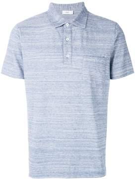 Closed button pocket polo shirt