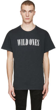 Amiri Black Vintage Wild Ones T-Shirt