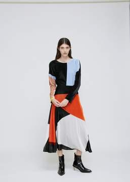 Cédric Charlier Velvet Dress