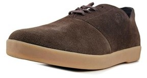 HUF Gillette Round Toe Suede Sneakers.