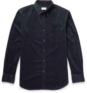 Club Monaco Slim-Fit Button-Down Collar Cotton-Corduroy Shirt