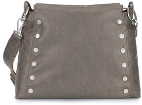 MICHAEL Michael Kors Hammitt Bryant East/West Silver Stud Cross-Body Bag