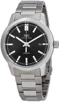 IWC Ingenieur Automatic Black Dial Men's Watch