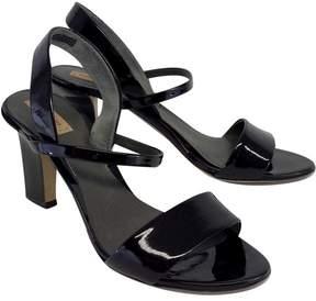 Reed Krakoff Black Patent Leather Sandal Heels