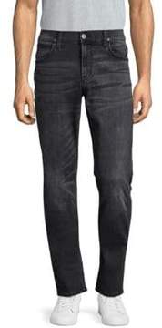 Hudson Faded Slim Straight Fit Jeans