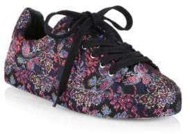 Schutz Oriana Printed Low-Top Sneakers