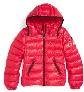 Moncler Toddler Girl's 'Bady' Hooded Down Jacket