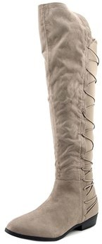 Material Girl Womens Calyn Closed Toe Over Knee Fashion Boots.