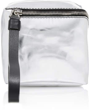 Proenza Schouler Mini Cube Metallic Leather Bag