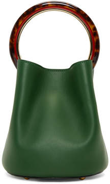 Marni Green Mini Pannier Bag