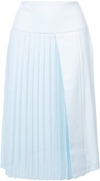 ADAM by Adam Lippes shift pleated skirt