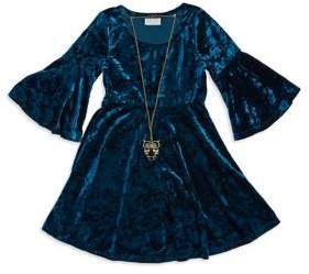 Iris & Ivy Girl's Velvet Dress