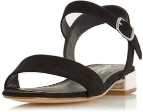 Head Over Heels *Head Over Heels By Dune Black Niccy Heel Sandals