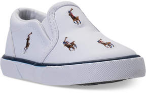 Polo Ralph Lauren Toddler Boys' Bal Harbour Repeat Casual Sneakers from Finish Line