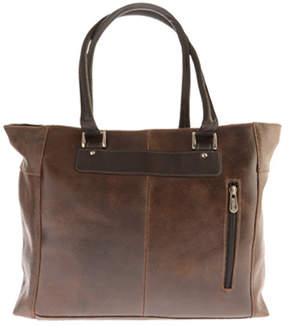 Piel Leather Vintage Executive Tote 2983