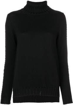 P.A.R.O.S.H. roll neck studded sweater