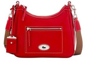 Dooney & Bourke Florentine Toscana Crossbody Hobo Shoulder Bag. - RED - STYLE