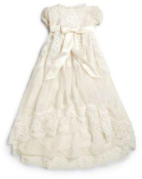Dolce & Gabbana Baby's Lace Baptism Dress