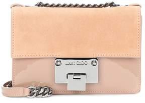 Jimmy Choo Rebel Soft Mini suede shoulder bag