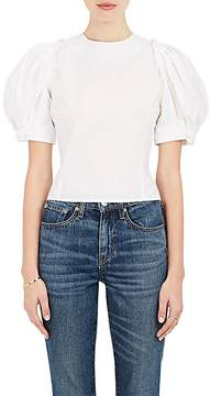 Brock Collection Women's Lace-Up-Back Cotton Top
