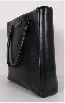 Kate Spade Black Structured Tote Bag