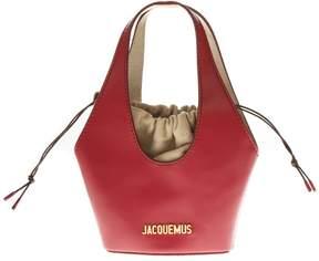 Jacquemus Red Leather Handbag
