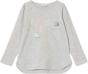 Mini A Ture Noa Noa Miniature Grey Long Sleeve T-Shirt