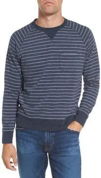 Grayers Men's Palmer Modern Fit Athletic Stripe Sweatshirt