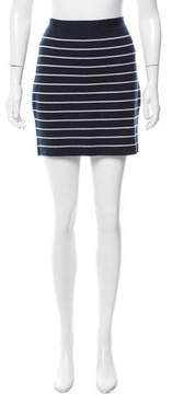 Boy By Band Of Outsiders Striped Mini Skirt