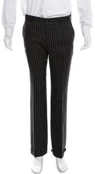 Ralph Lauren Purple Label Striped Linen Pants
